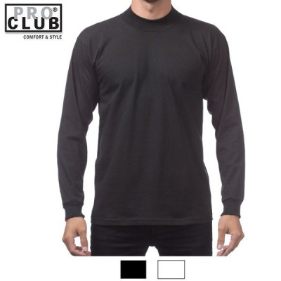 プロクラブ PRO CLUBハイネック長袖Tシャツ【ヘビーウェイト】:134