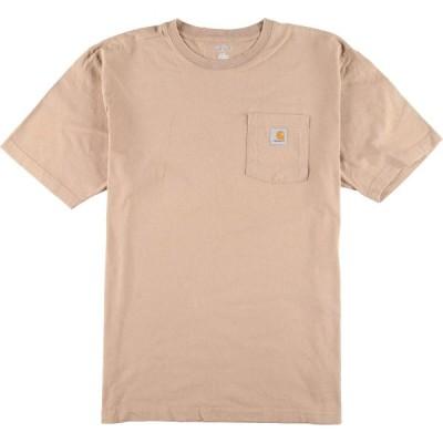 カーハート Carhartt ワンポイントロゴポケットTシャツ メンズXL /eaa158643