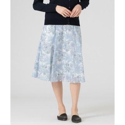 スカート 【BIBURY FLOWER】カルゼスカート