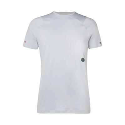 UNDER ARMOUR T シャツ ライトグレー S ポリエステル 90% / ポリウレタン 10% T シャツ