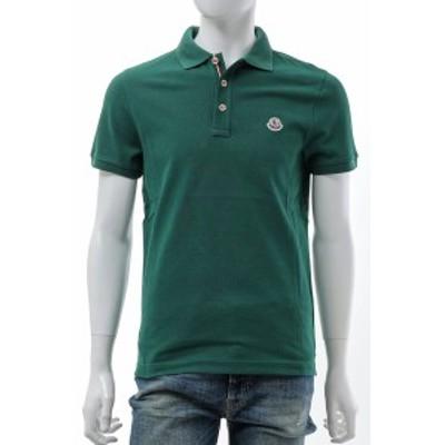 モンクレール MONCLER ポロシャツ 半袖 グリーン メンズ (8A70700 84556) 2021年秋冬新作 送料無料