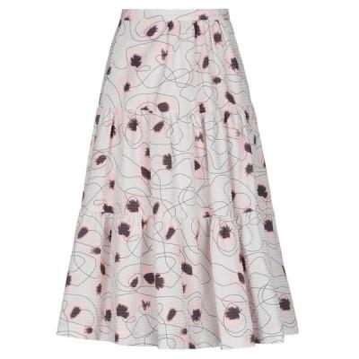 BAUM UND PFERDGARTEN 七分丈スカート  レディースファッション  ボトムス  スカート  ロング、マキシ丈スカート ライトピンク