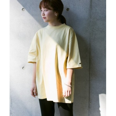 (URBAN RESEARCH DOORS/アーバンリサーチ ドアーズ)KIN エッグTシャツ/レディース 別注JAUNE