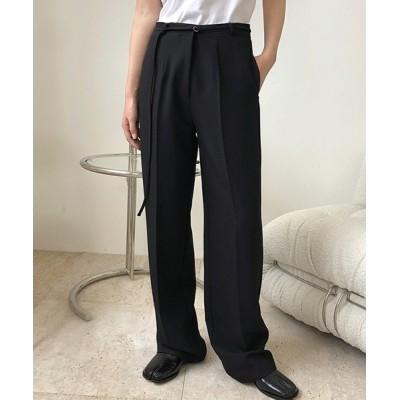 chuclla / 【chuclla】Center crease straight slacks chw1362 WOMEN パンツ > スラックス