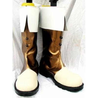 Gargamel コスプレ靴 ヘタリア オーストリア ローデリヒ コスプレブーツm568