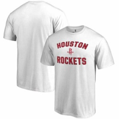 Fanatics Branded ファナティクス ブランド スポーツ用品  Houston Rockets White Victory Arch T-Shirt