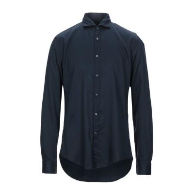 ブライアン デールズ BRIAN DALES シャツ ダークブルー 44 コットン 100% シャツ