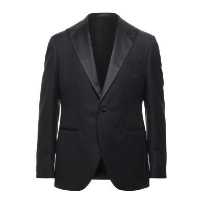 LUIGI BIANCHI Mantova テーラードジャケット ブラック 52 ウール 100% テーラードジャケット