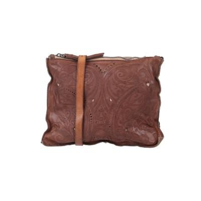 カテリーナルッキ CATERINA LUCCHI ハンドバッグ ブラウン 柔らかめの牛革 ハンドバッグ