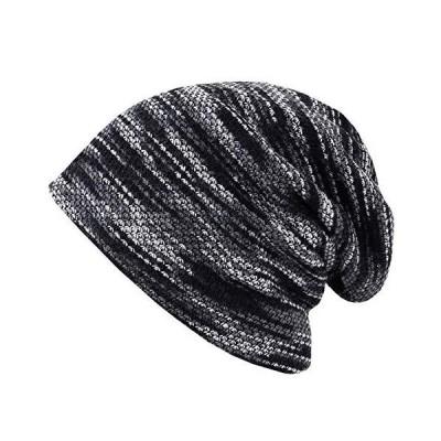 BUZZxSELECTION(バズ セレクション) ニット帽 帽子 キャップ 防寒 裏起毛 秋冬 スポーツ アウトドア メンズ CAP048 (01