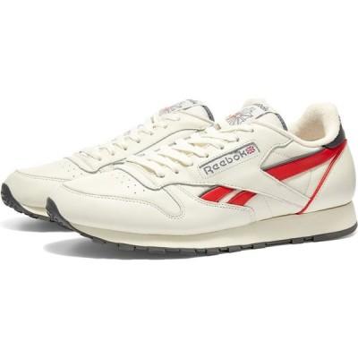 リーボック Reebok メンズ スニーカー シューズ・靴 Classic Leather MU Chalk/Red/True Grey