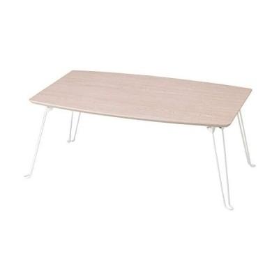 折れ脚テーブル75 ホワイト