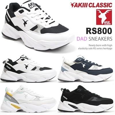 アキクラシック 厚底スニーカー レディース AKIII CLASSIC RS800 AKC0002 ダッドスニーカー 韓国 厚底 ダッド系