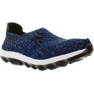 ベルニー メイヴ レディース スリッポン・フラット シューズ・靴 Gummies Gem Slip-On Sneaker Denim Stretch Nylon
