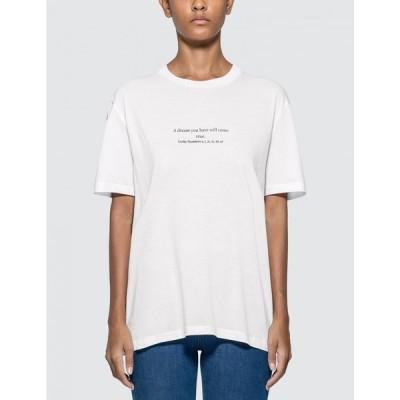 ステラ マッカートニー Stella McCartney レディース Tシャツ トップス Classic T-shirt White
