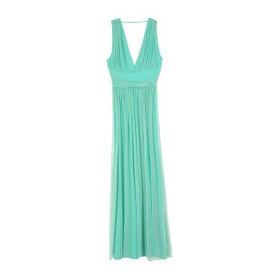 BLU GAYA' ロングワンピース&ドレス ライトグリーン 44 ポリエステル 100% / ポリウレタン ロングワンピース&ドレス
