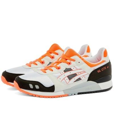 アシックス Asics メンズ スニーカー シューズ・靴 Gel Lyte III White/Flash Coral