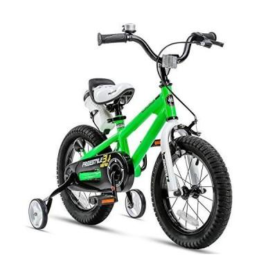 全国送料無料 (14 Inch, Green) - RoyalBaby BMX Freestyle Kids Bike, Boy's Bikes and Girl's Bikes with training wheels, 30cm , 36cm , 41cm , 46c