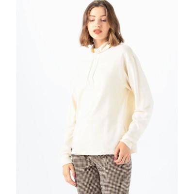 tシャツ Tシャツ コットンジャージー ハイネックプルオーバー
