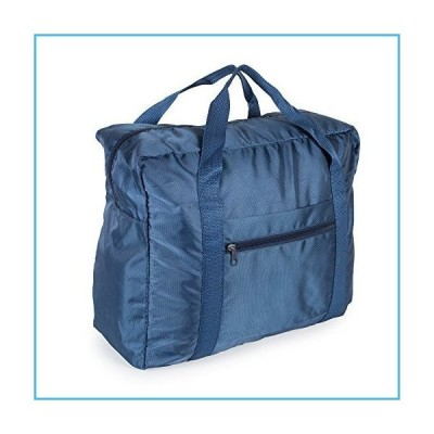 Lightweight Travel Weekender Duffle Bag for Carry On Luggage, Vacation, Sports, Yoga, Gym, and Storage - Blue並行輸入品