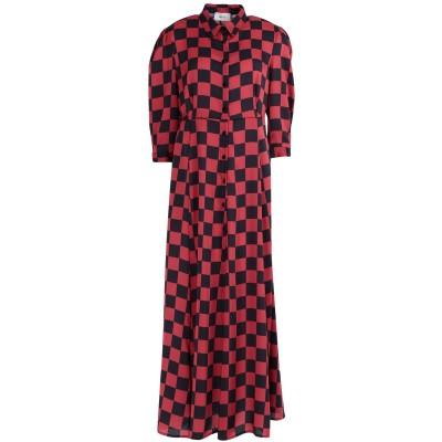 VICOLO ロングワンピース&ドレス ボルドー M アセテート 62% / レーヨン 38% ロングワンピース&ドレス