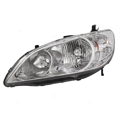 ドライバー Headlight Headlamp リプレイスメント for Honda 33151-S5A-A51(海外取寄せ品)[汎用品]