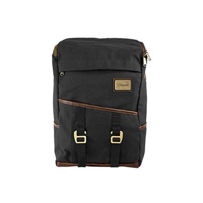 """Origaudio Finley Mill Backpack - 17"""" Laptop Pocket - Great for Business, Travel, and Students (Black)"""