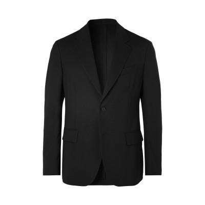 VERSACE テーラードジャケット ブラック 52 バージンウール 100% テーラードジャケット