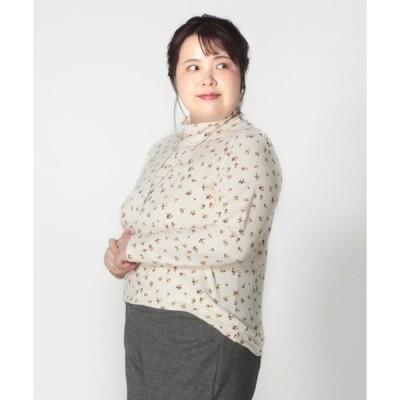 tシャツ Tシャツ 【大きいサイズ】プレスウォーム プリント タートルネック カットソー