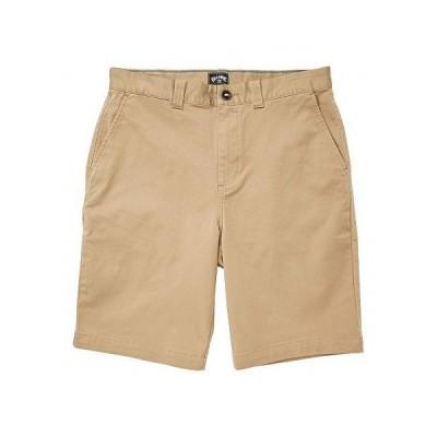 """Billabong ビラボン メンズ 男性用 ファッション ショートパンツ 短パン Carter Stretch 21"""" Shorts - Dark Khaki"""