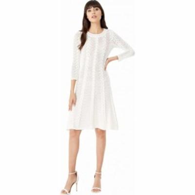 ミリー Milly レディース ワンピース ワンピース・ドレス Vertical Open Stitch Dress White