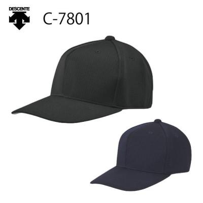 デサント 野球 帽子 アメリカンキャップ アジャスターなし C-7801