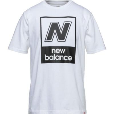 ニューバランス NEW BALANCE メンズ Tシャツ トップス t-shirt Ivory