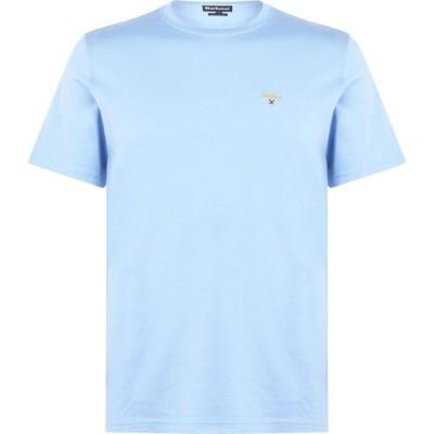 バブアー Barbour メンズ Tシャツ トップス Crest T Shirt Blue BL