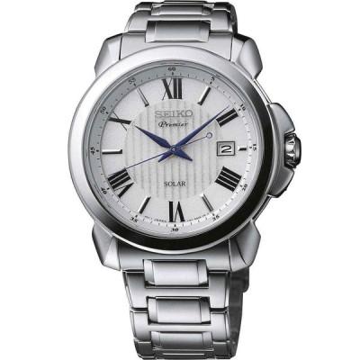 セイコー 腕時計 Seiko Premier SNE453P1 メンズ Wristwatch Perpetual Calendar watch