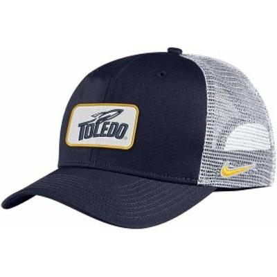 ナイキ メンズ 帽子 アクセサリー Nike Men's Toledo Rockets Midnight Blue Classic99 Trucker Hat