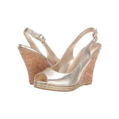 Lilly Pulitzer リリーピューリッツァー レディース 女性用 シューズ 靴 ヒール Krisie Wedge - Gold Metallic