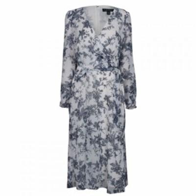 ラルフ ローレン Lauren Ralph Lauren Occasion レディース ワンピース ワンピース・ドレス LRL Ho Crm/Blue/Multi