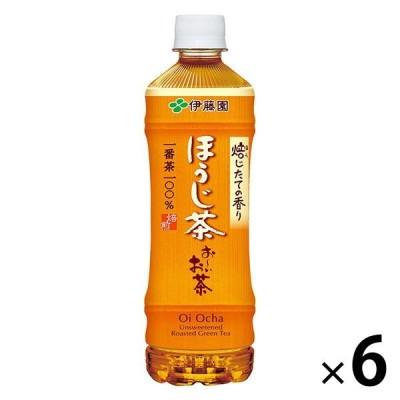 伊藤園 おーいお茶 ほうじ茶 525ml 1セット(6本)