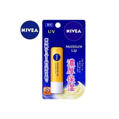 ニベア 薬用モイスチャーリップUV SPF18/PA+ 3.9g (医薬部外品) / 花王 ニベア