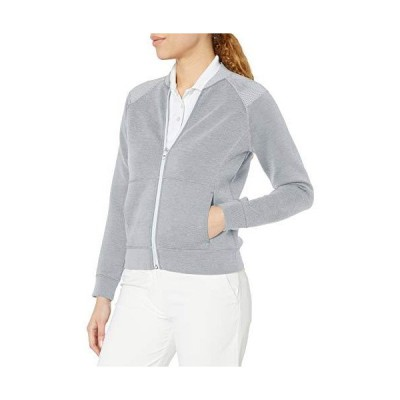 Skechers Women's Downswing Full Zip Bomber Jacket, Bright White, XXXL並行輸入品
