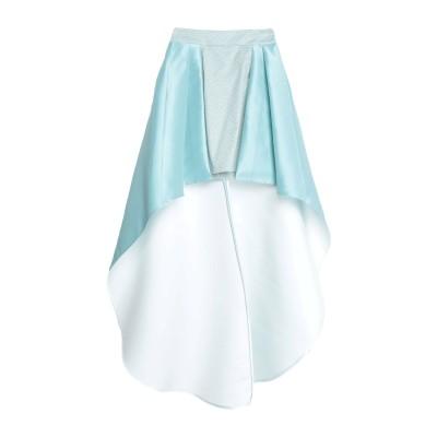 コッカ KOCCA ミニスカート スカイブルー 44 コットン 60% / ナイロン 27% / メタリック繊維 10% / ポリウレタン 3% /