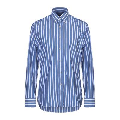 ALESSANDRO GHERARDI シャツ ブルー 40 コットン 100% シャツ