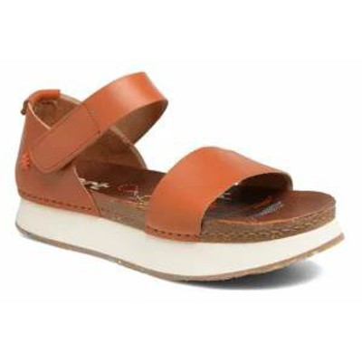 Art レディースサンダル Art Sandals Mykonos 1260 Brown Cuero