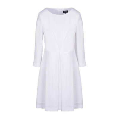 アルマーニ ジーンズ ARMANI JEANS ミニワンピース&ドレス ホワイト 40 98% ポリエステル 2% ポリウレタン ミニワンピース&ド