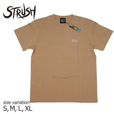 STRUSH WHEELS ストラッシュ ウィール Tシャツ Script EMB ( 刺繍) Tee  スケボー スケートボード SKATEBOARD ストリート