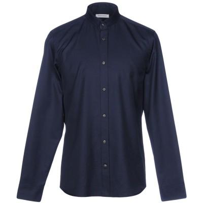 マウロ グリフォーニ MAURO GRIFONI シャツ ダークブルー 41 コットン 100% シャツ