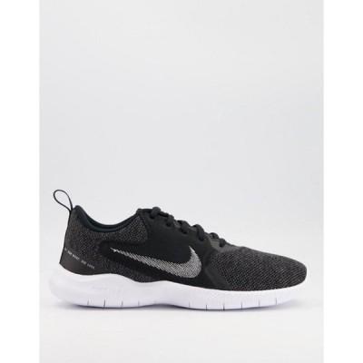 ナイキ レディース スニーカー シューズ Nike Running Flex Experience 10 sneakers in black
