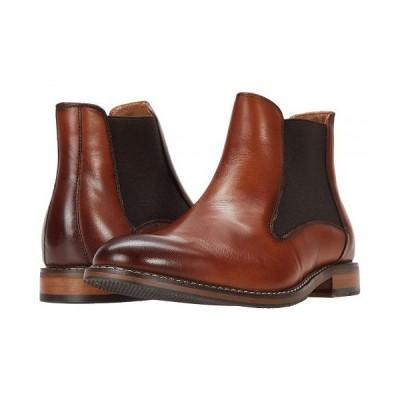 Stacy Adams ステーシーアダムス メンズ 男性用 シューズ 靴 ブーツ チェルシーブーツ Fabian Chelsea Boot - Cognac