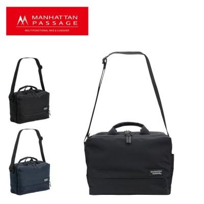 マンハッタンパッセージ ブリーフケース 2WAY EST メンズ5485 MANHATTAN PASSAGE   ショルダーバッグ ビジネスバッグ B5 高密度ナイロン 撥水 軽量